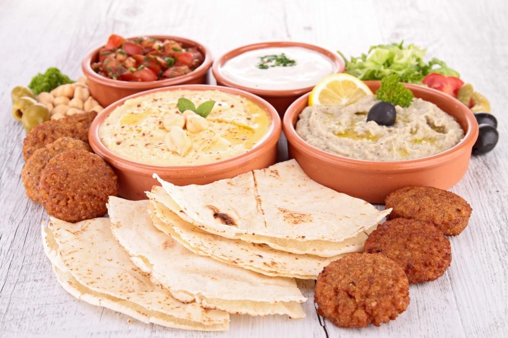 Les mezzes : spécialités libanaises à partager au Di Yar, restaurant à Nice