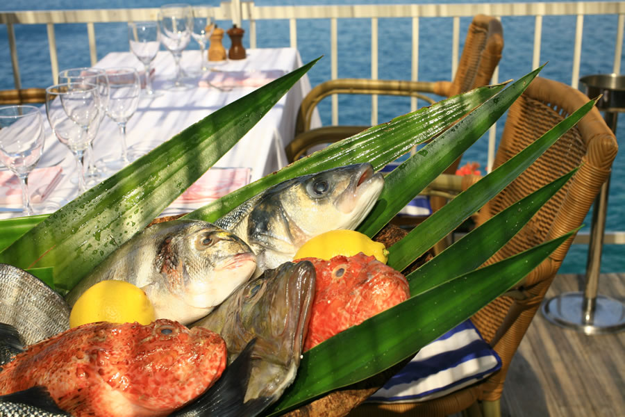 La bouillabaisse : spécialité de ce restaurant niçois